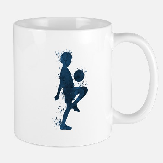 Football player Mugs