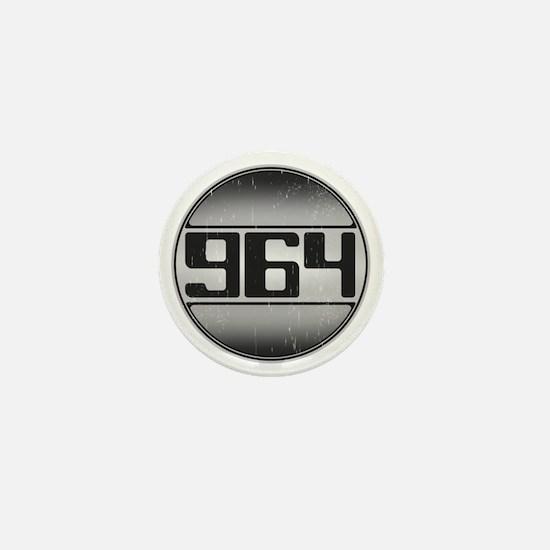 964 copy dark Mini Button