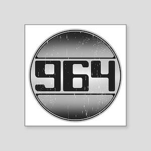 """964 copy dark Square Sticker 3"""" x 3"""""""