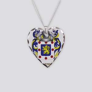 Ortiz (Austria) Coat of Arms  Necklace Heart Charm