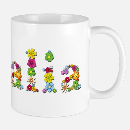 Natalia Bright Flowers Mugs