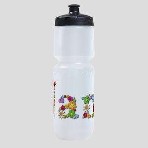 Nana Bright Flowers Sports Bottle