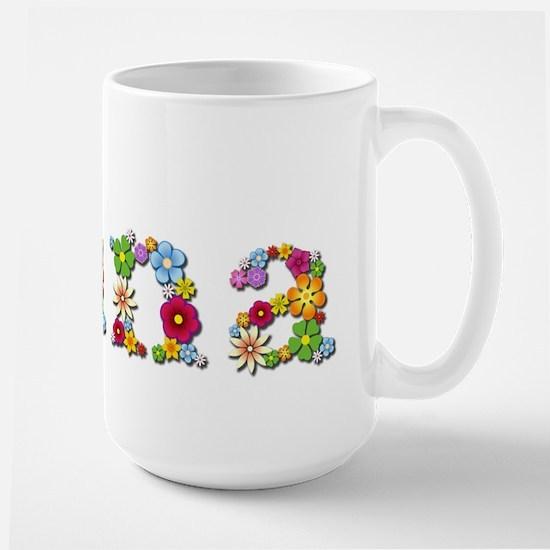 Nana Bright Flowers Mugs
