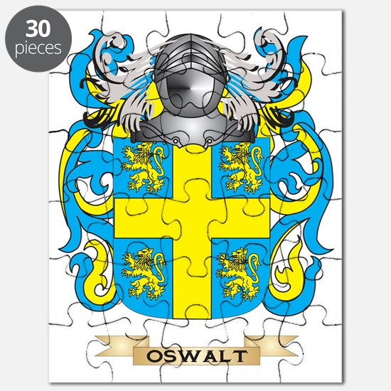 Oswalt Coat of Arms (Family Crest) Puzzle