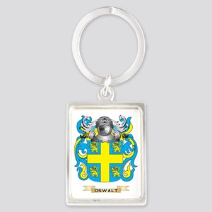 Oswalt Coat of Arms (Family Cres Portrait Keychain