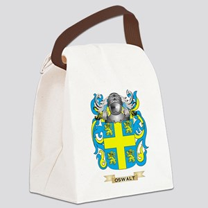 Oswalt Coat of Arms (Family Crest Canvas Lunch Bag
