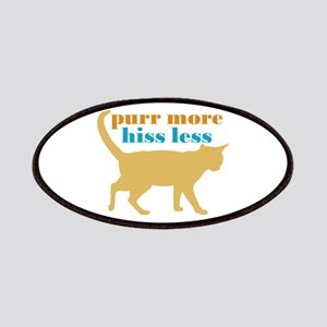 Purr More Hiss Less Patches