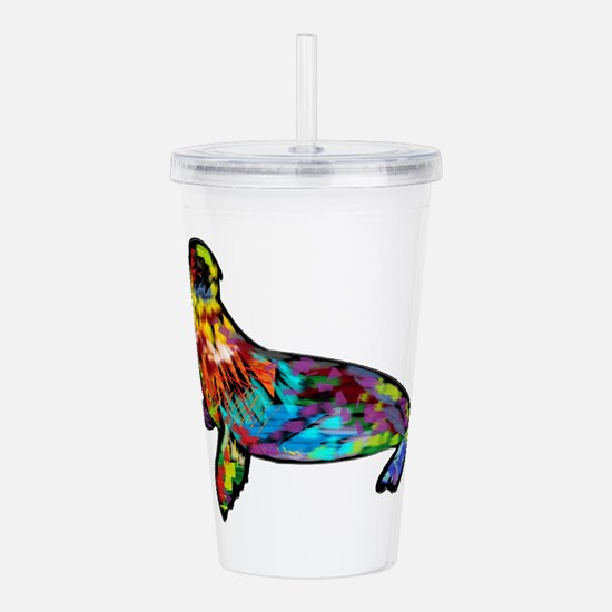 COLORS SHOWN Acrylic Double-wall Tumbler