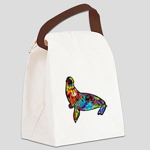COLORS SHOWN Canvas Lunch Bag