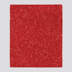 Hot Pepper Red Throw Blanket