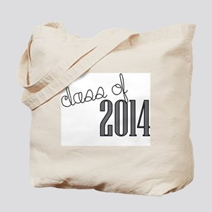 class of 2014 greyscale Tote Bag