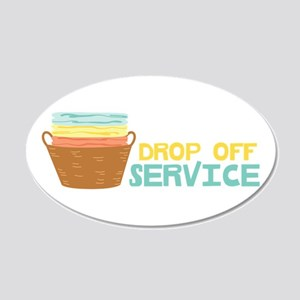 Drop Off Service Wall Decal