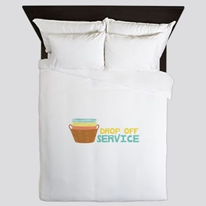 Drop Off Service Queen Duvet