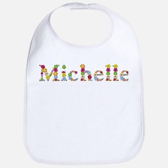 Michelle Bright Flowers Bib