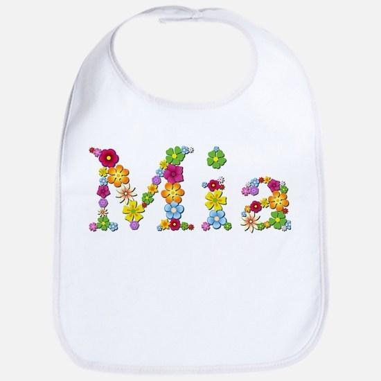 Mia Bright Flowers Bib