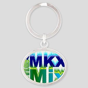 WMKX Hot Hits Oval Keychain