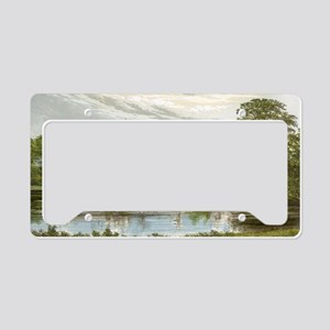 Alton Towers License Plate Holder