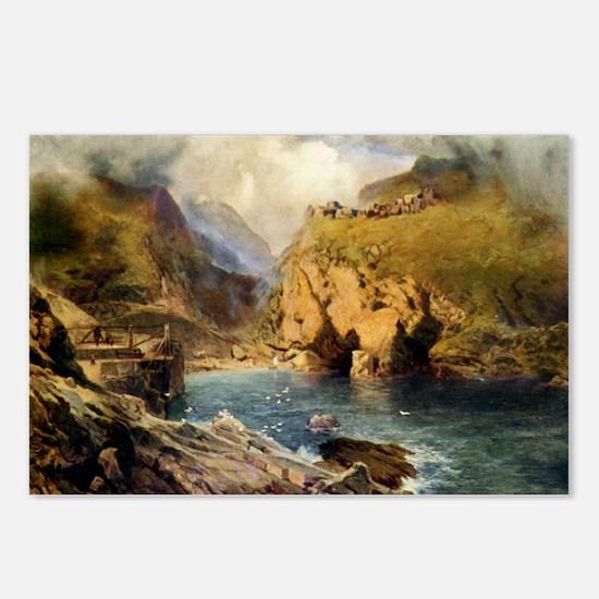 King Arthur's Castle, Off Postcards (Package of 8)