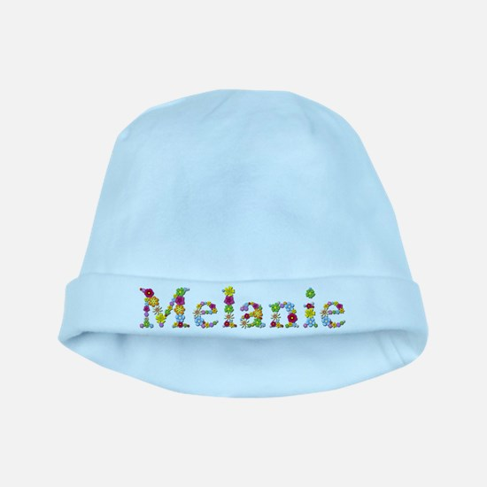 Melanie Bright Flowers baby hat