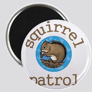 Squirrel Patrol Magnet