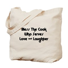 Bless The Cook Tote Bag