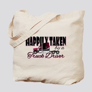 Happily Taken - Truck Driver Tote Bag