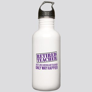Funny Retired Teacher Stainless Water Bottle 1.0L