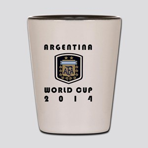 ARGENTINA 2014 Shot Glass