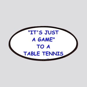 table tennis Patches