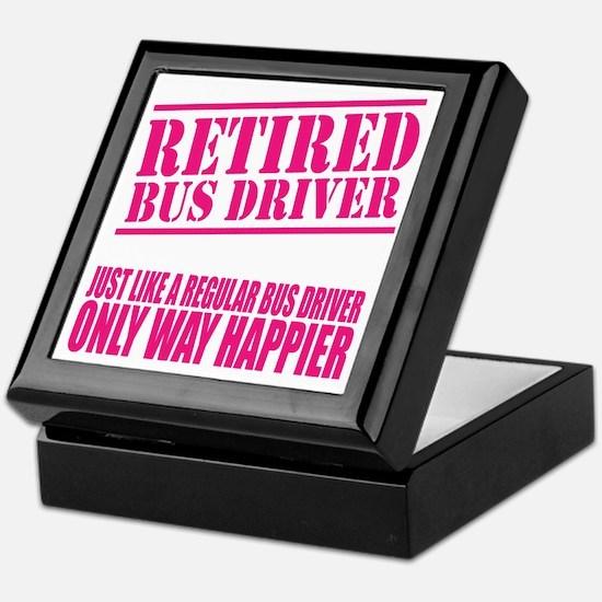 Cool Bus driver Keepsake Box