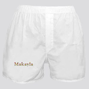 Makayla Bright Flowers Boxer Shorts