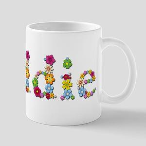 Maddie Bright Flowers Mugs