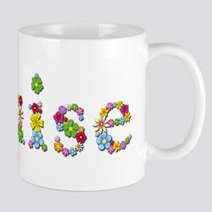 Louise Bright Flowers Mugs