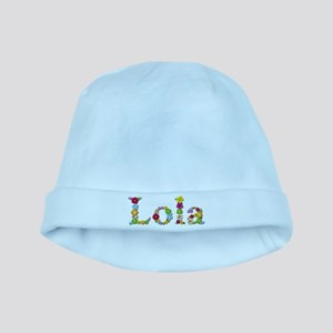 Lola Bright Flowers baby hat