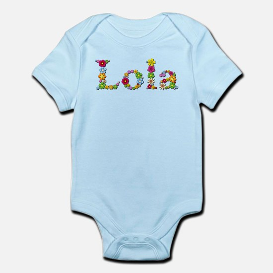 Lola Bright Flowers Body Suit