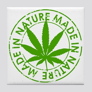 weed cannabis 420 t-shirt Tile Coaster