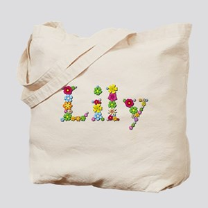 Lily Bright Flowers Tote Bag