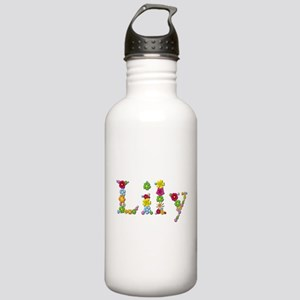 Lily Bright Flowers Water Bottle
