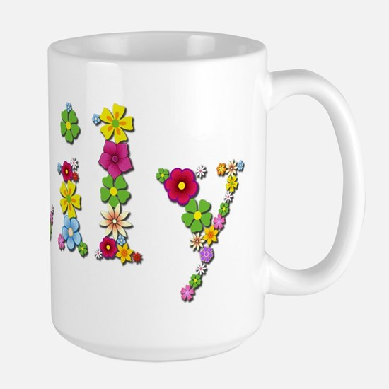 Lily Bright Flowers Mugs