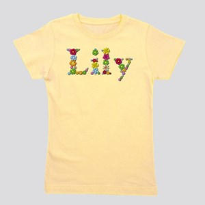 Lily Bright Flowers Girl's Tee