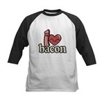 I Heart Bacon Baseball Jersey