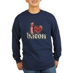 I Heart Bacon Long Sleeve T-Shirt