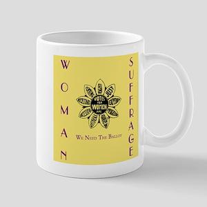 Votes For Women slogans square Mugs