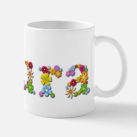 Laura Bright Flowers Mugs