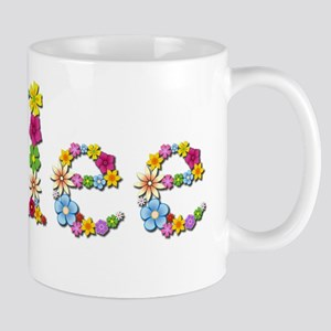 Kylee Bright Flowers Mugs