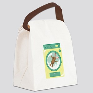 Washing Machine Canvas Lunch Bag