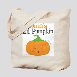 Omas Little Pumpkin Tote Bag