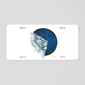 Leo II Aluminum License Plate