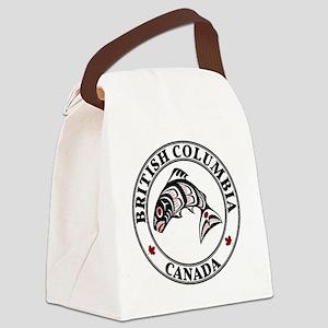 Northwest Pacific coast Haida Sal Canvas Lunch Bag