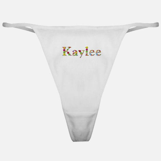 Kaylee Bright Flowers Classic Thong